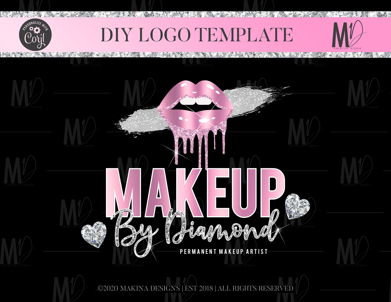Lip Gloss Logo Design, gloss Logo Design, lip gloss, Logo