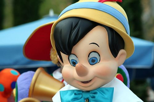 Pinocchio by FrogMiller, via Flickr