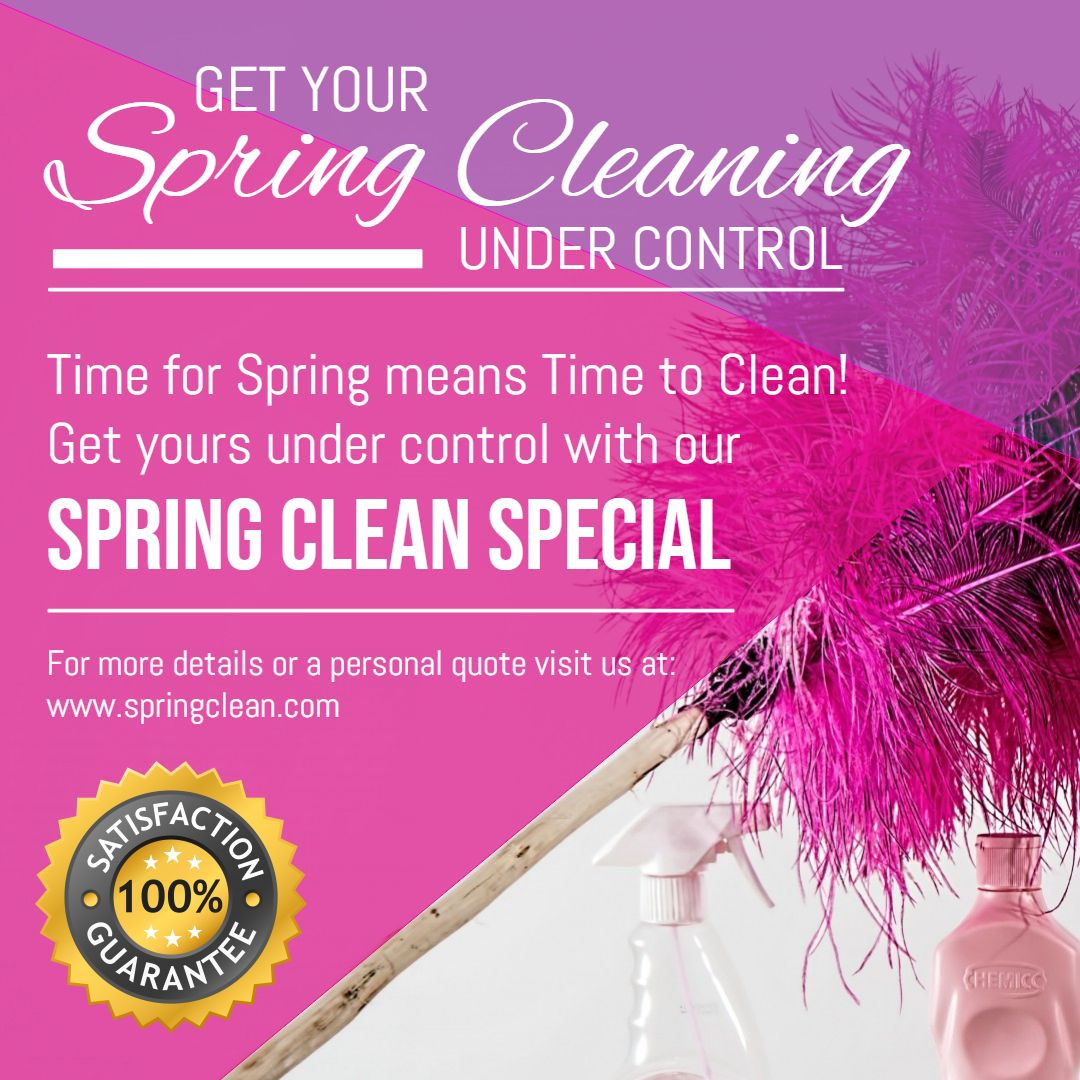 Spring Cleaning Service Ad Template Spring Cleaning Cleaning Service Cleaning Flyers Office clean up day flyer