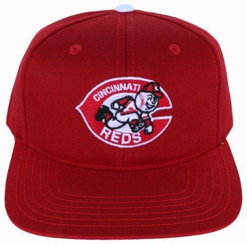 save off 73c20 e20e7 Mlb · Baseball Hats · Swag · Cincinnati Reds Red Basic Mascot Plastic Snapback  Flatbill Adjustable Hat by American Needle.  10.04.