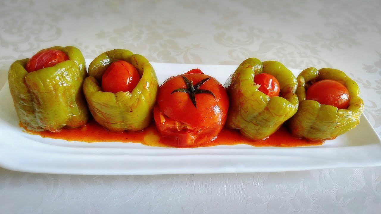 دولمة فلفل على الطريقة التركية بننننة لاتفوتوها Youtube Lebanese Recipes Food Cuisine