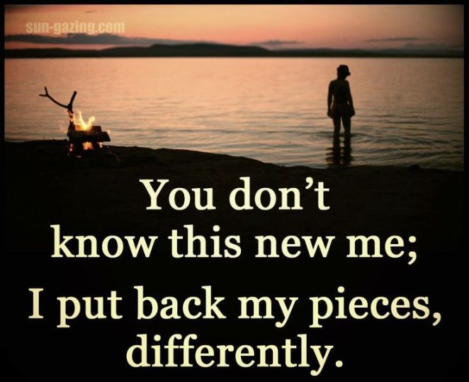 Breaking Up And Moving On Quotes :Oh yes, this describes me. I have been broken and my heart has been shattered, I…