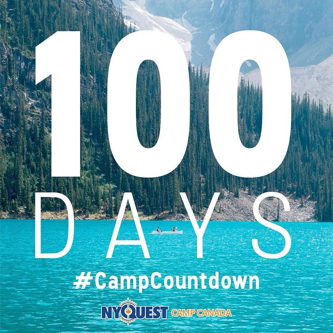 Our CampCountdown continues There is now ONLY days