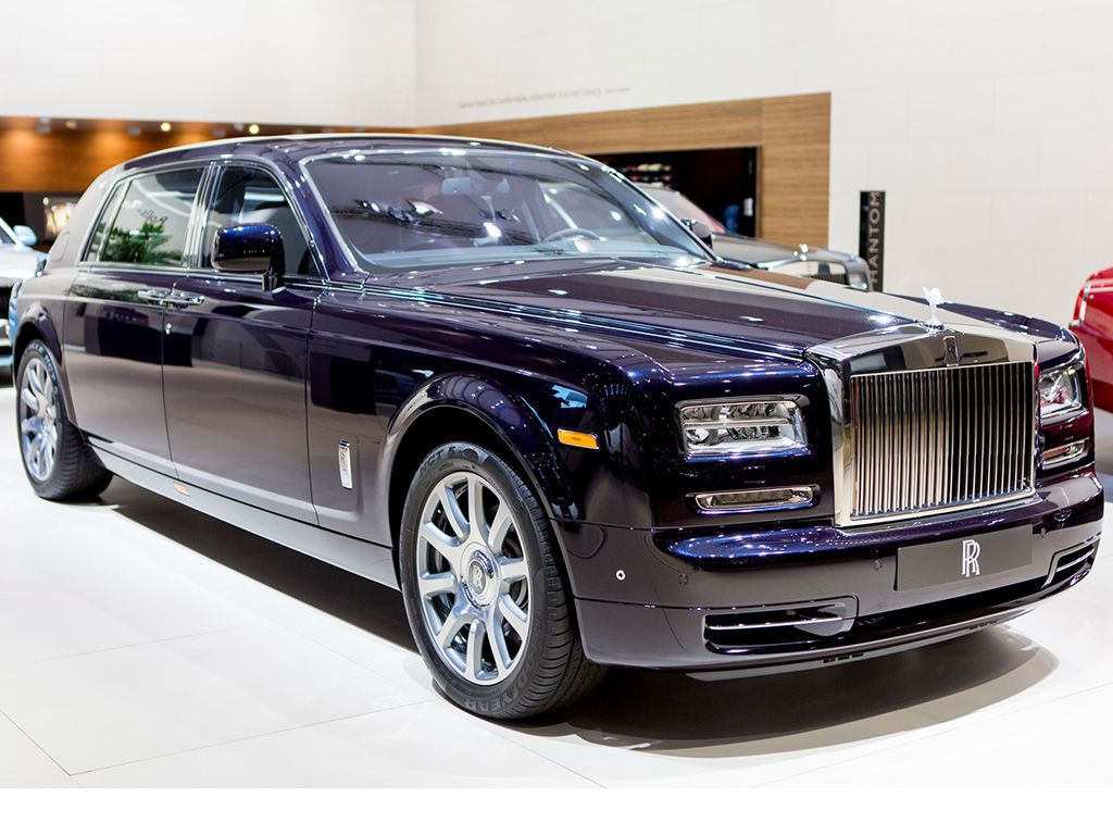 Rolls royce celestial phantom at dubai motor show most expensive