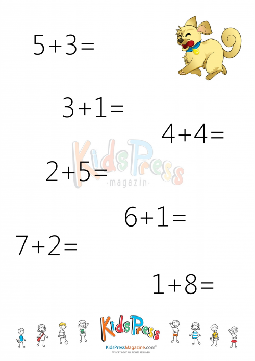 Sums To 10 Worksheet 4 Worksheets Math And Math Worksheets