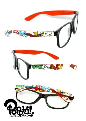e90fd7df63 The Avengers Special Edition Custom Painted Glasses by Janny Dangerous -  love these  )