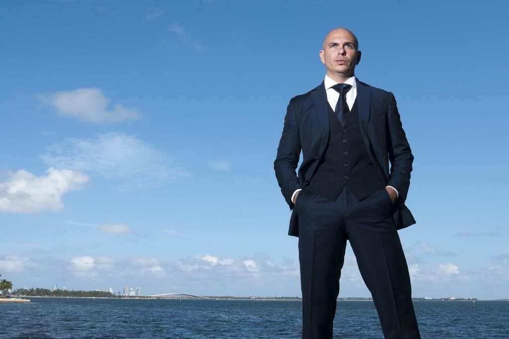 Pitbull Shows His Softer Side With Scent Launch