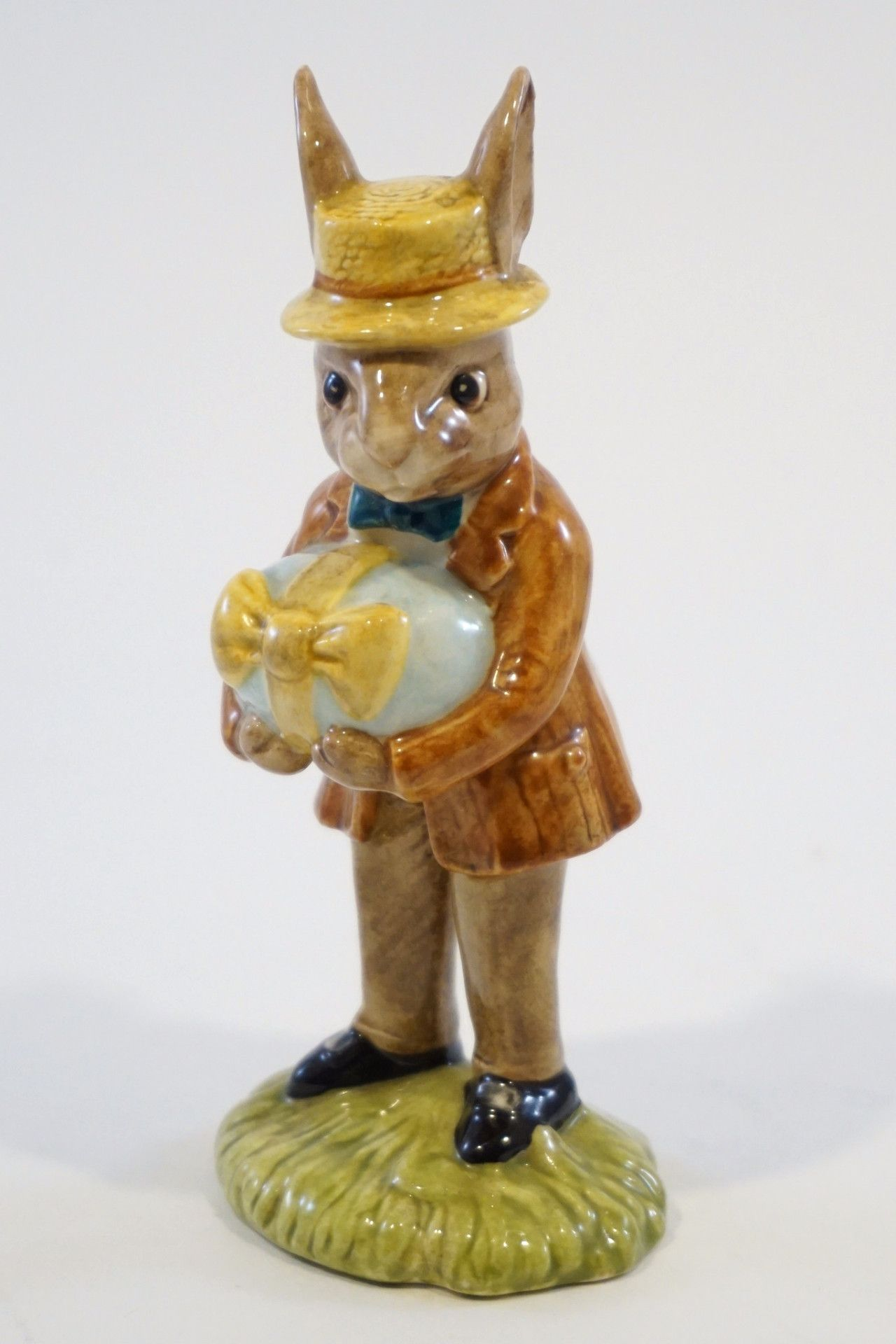 "Collectible Royal Doulton Mr. Bunnykins at the Easter Parade. Note that the original packaging is not available for this item. Details: - Made in England. - Measures about 4.75"" tall. - Made in 1984."