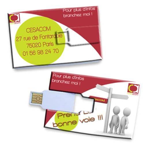 Carte De Visite Cl USB Spciale Pour Les Geeks