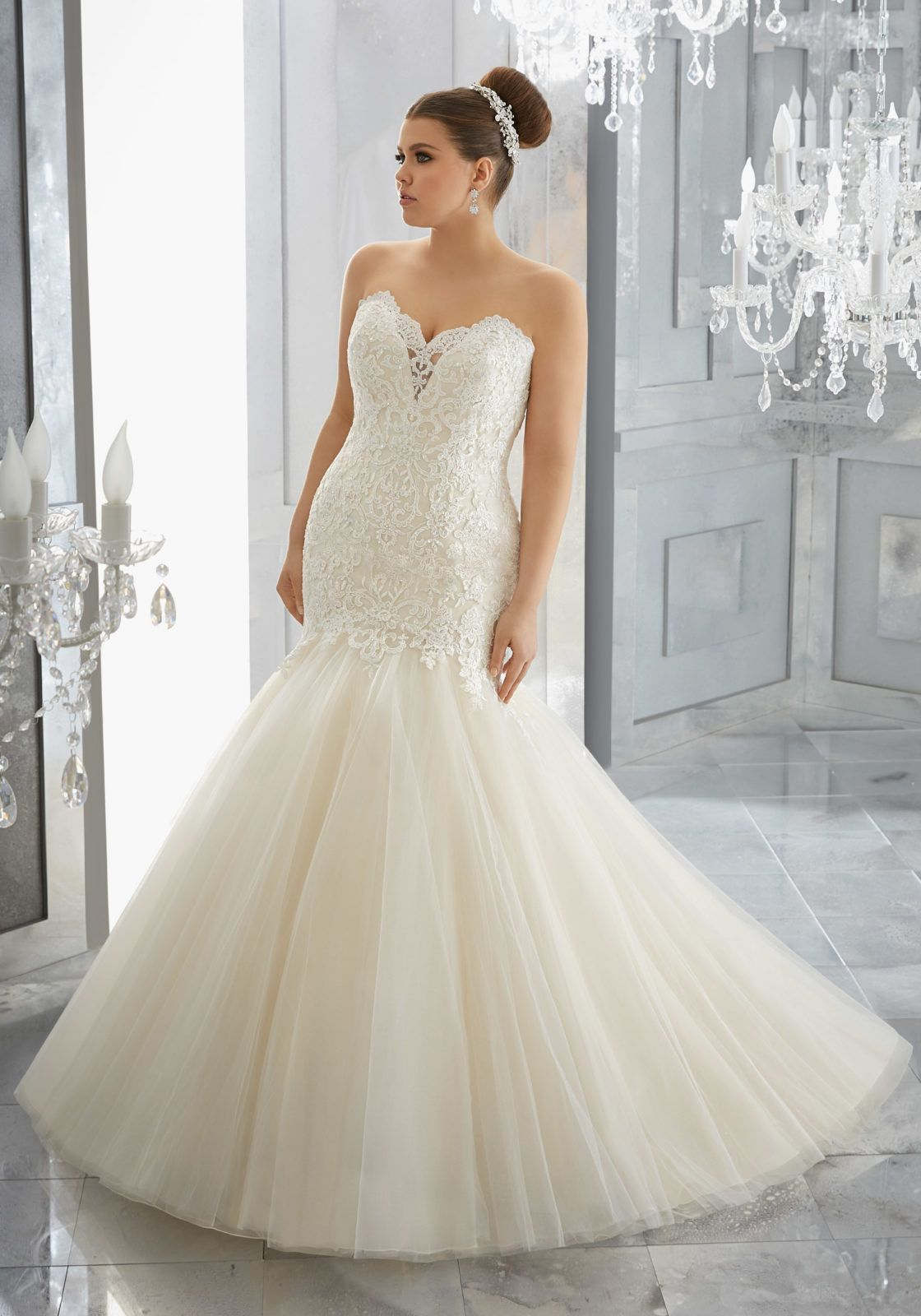 Fashion friday plus size wedding dress collection mori lee