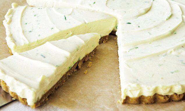 Davina McCall: Lime & ginger cheesecake