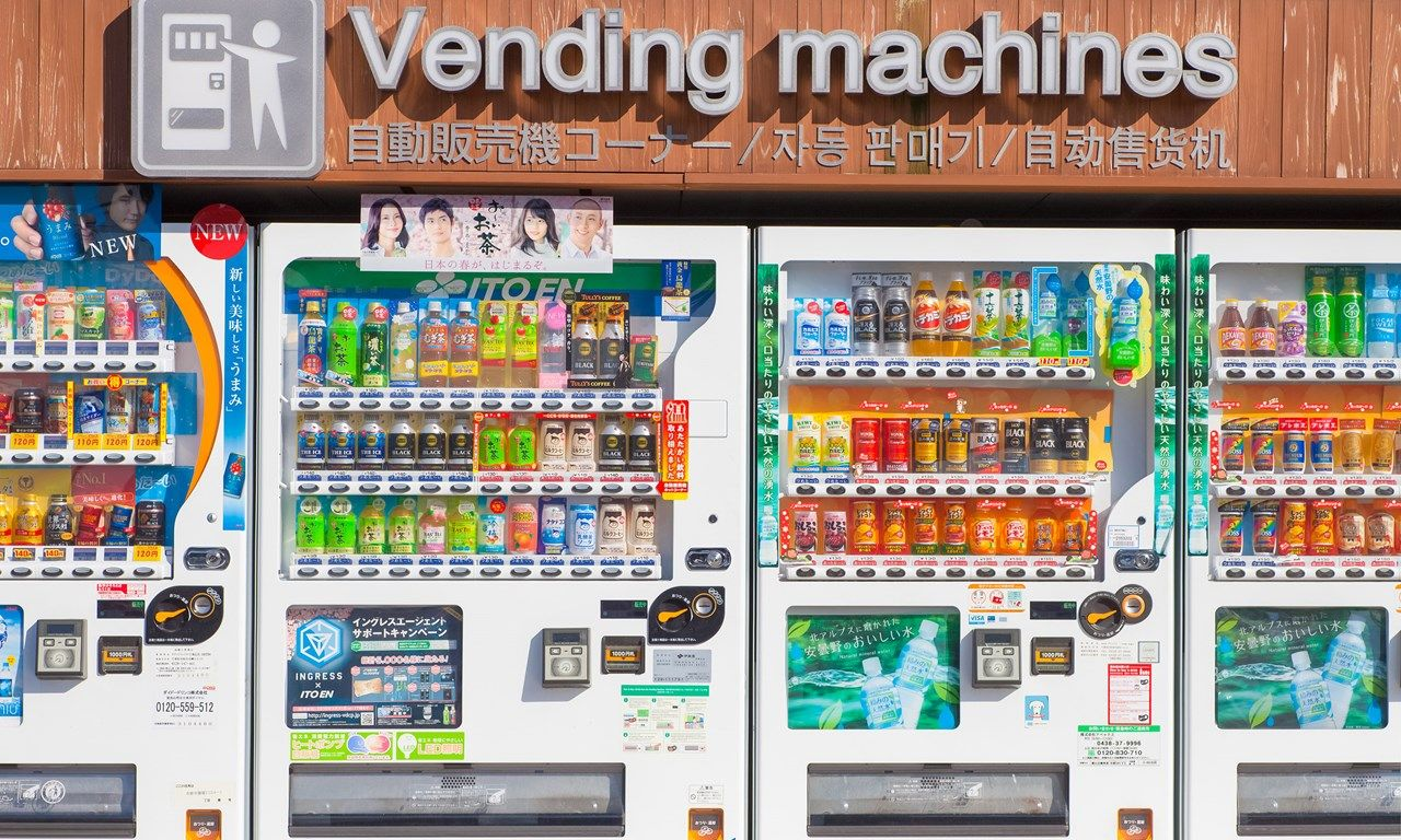 How To Use Japanese Vending Machines Vending Machines In Japan