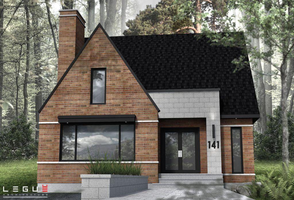 Plan de Maison Moderne Ë_141 Leguë Architecture houses in 2018 - Plan De Maison Moderne