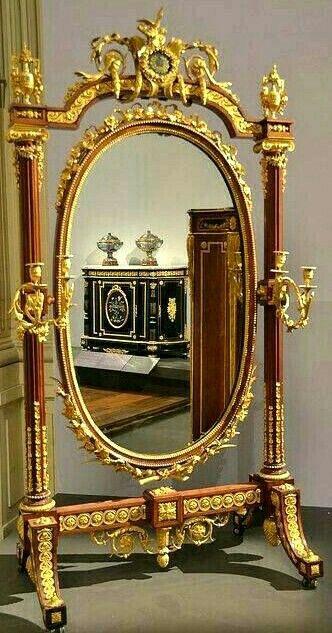 Antieke Spiegel Frans.Pin Van Lisette Op Spiegel Antieke Spiegels Barokke