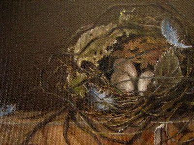 pic of bluebird nest