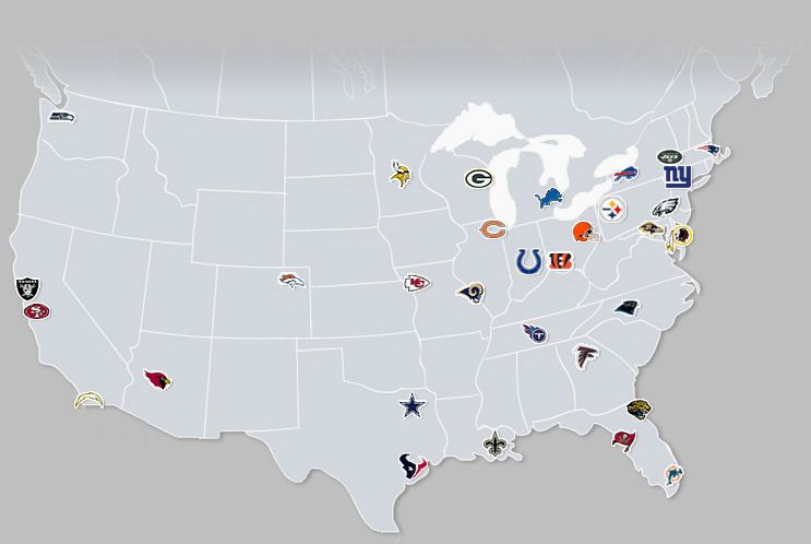 Nfl Teams Geography Pinterest Classroom Teaching And