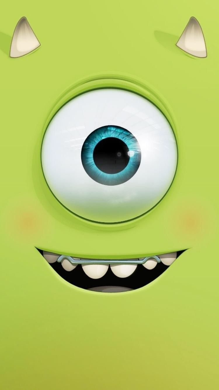 Wallpaper iphone monster university - High Quality Guaranteed Create A Gift With Monster University Mike Expression