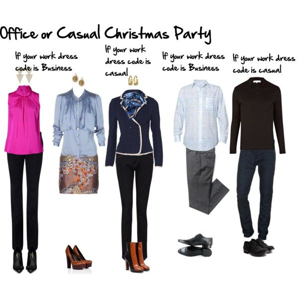 Casual or in office Christmas Party by imogenl on Polyvore - Casual Or In Office Christmas Party Dressing Styles By Color, Body