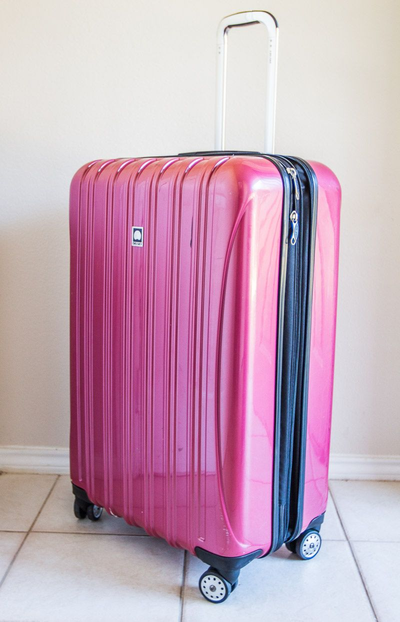 ac7c5113237 Delsey luggage review. Read why it's one of the best travel suitcases. # luggage #travel #fashion