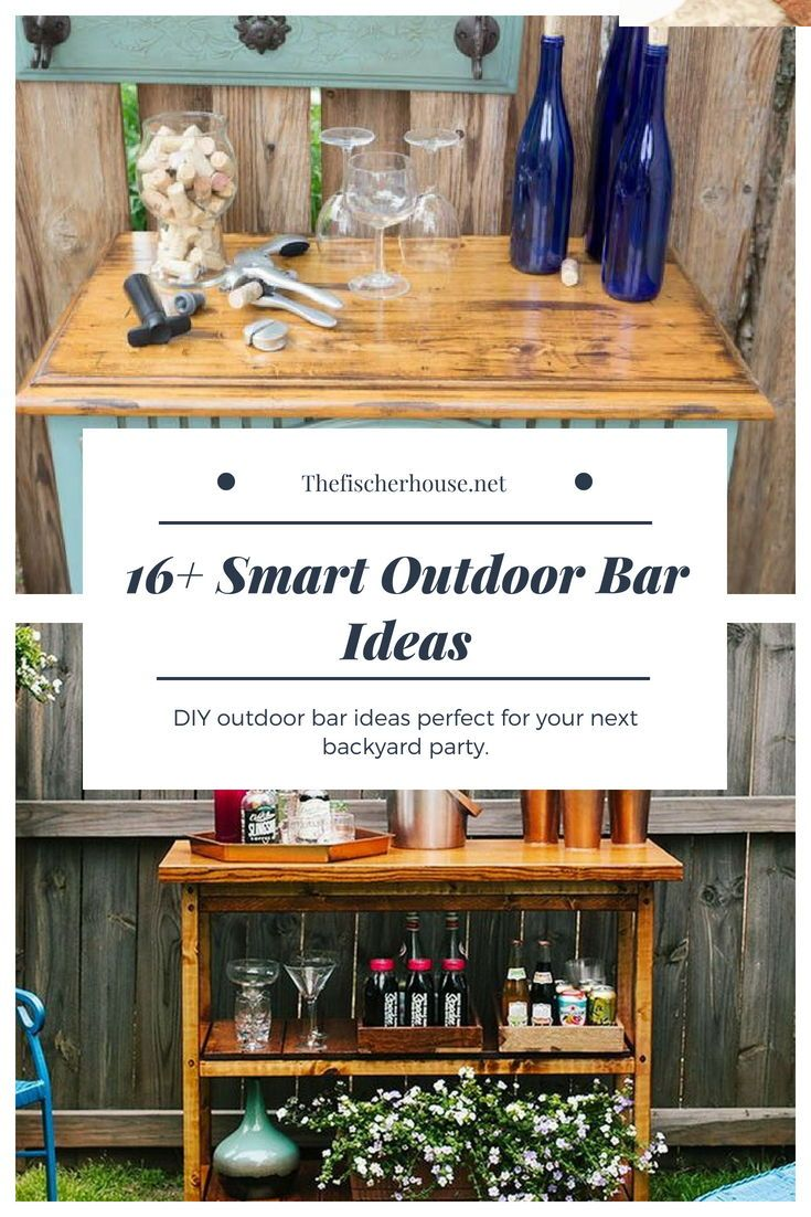 16 Smart and Delightful Outdoor Bar Ideas to Try | Pinterest ...