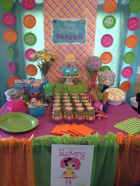 Lalaloopsy party birthday party ideas fiestas cumple y - Ideas decoracion fiestas ...