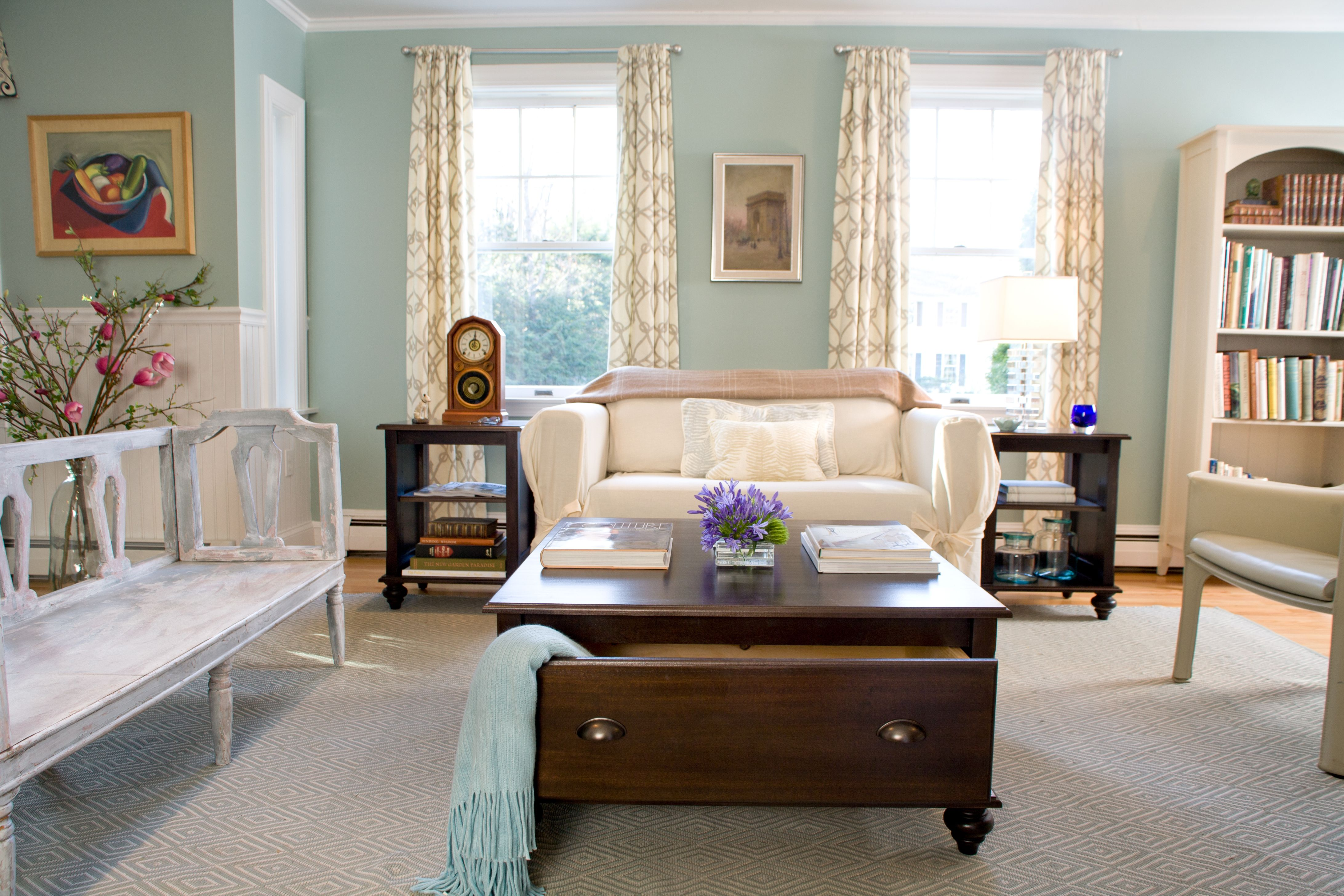 This Living Room Is Remade For Summerwith A Summer Rug And Impressive Living Room Simple Decorating Ideas Inspiration Design
