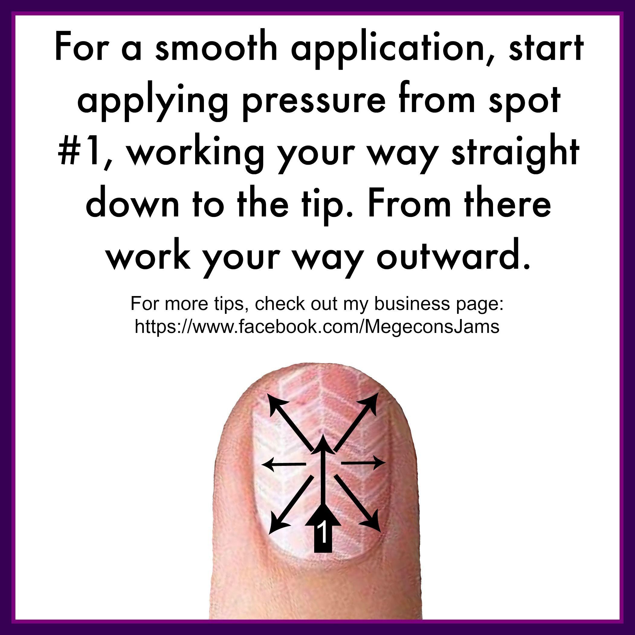 Jamberry Nail Wraps. Application method. …   Pinteres…