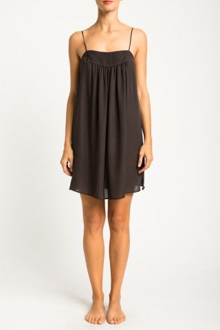 The Pintuck dress is a classic style and is an essential in every woman's loungewear wardrobe.