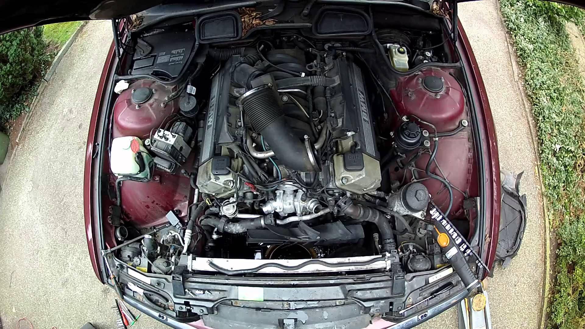 Bmw M62 Tu E38 And E39 Alternator Change Part 1 Bmw M62 Bmw Alternator