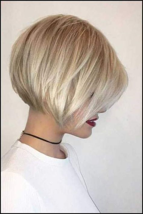 152 Besten Haare Kurz Bilder Auf Pinterest Frisur Ideen Einfache Frisuren Bob Haircut For Fine Hair Thick Hair Styles Haircuts For Fine Hair