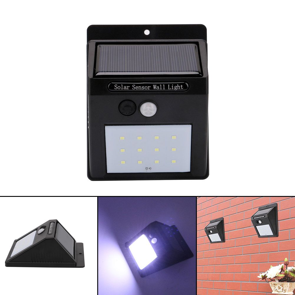 Solar sensor light 12 leds waterproof security lights energy saving solar sensor light 12 leds waterproof security lights energy saving wall lamp for outdoor courtyard corridor mozeypictures Gallery