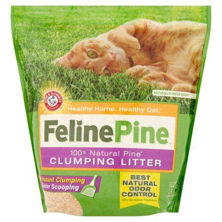 Pets Pine cat litter, Natural cat litter, Clumping cat