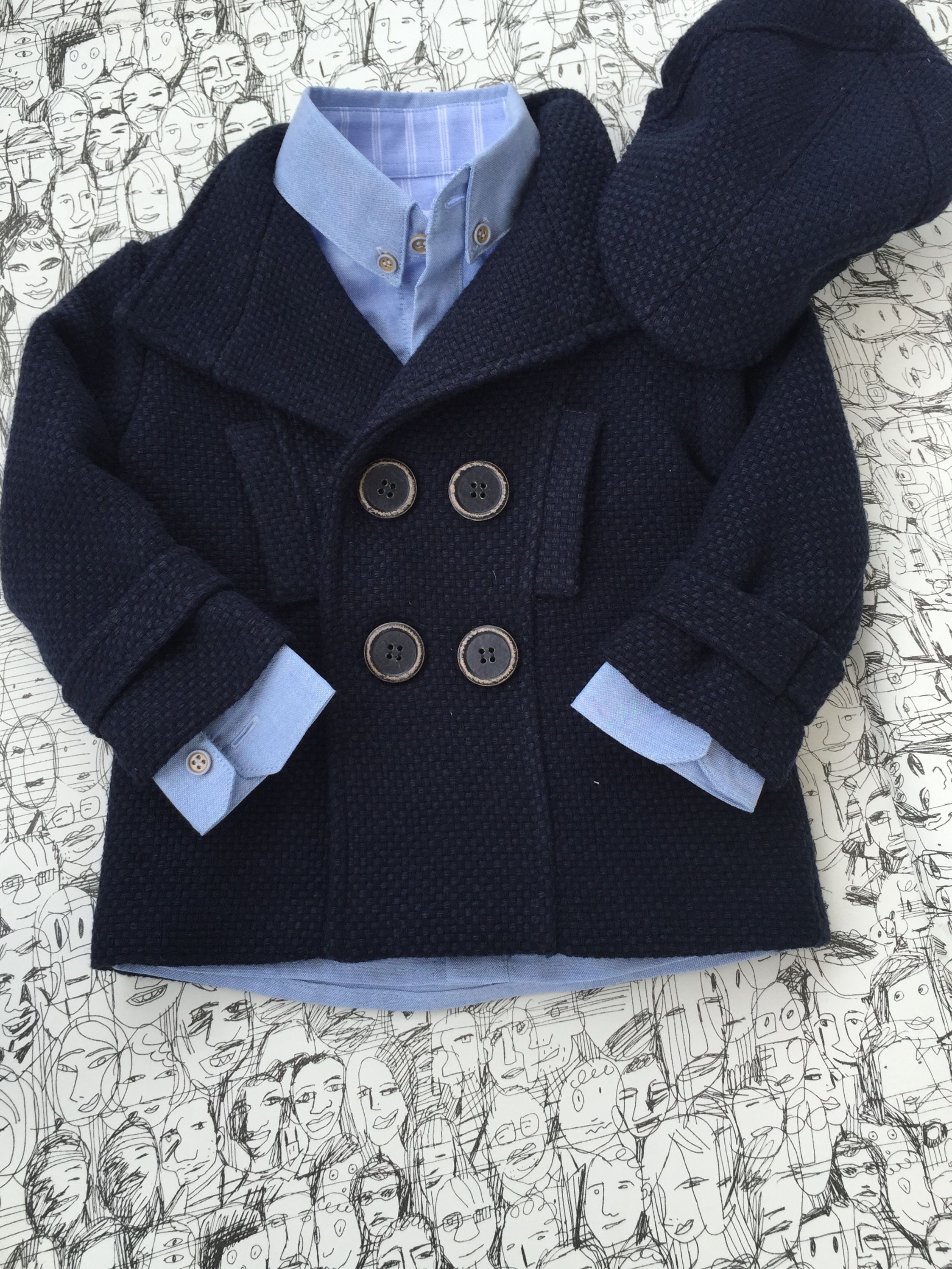 18e4087b4ce Navy Cap with blue oxford shirt Angel Wings F|W 2015 | Angel Wings F ...