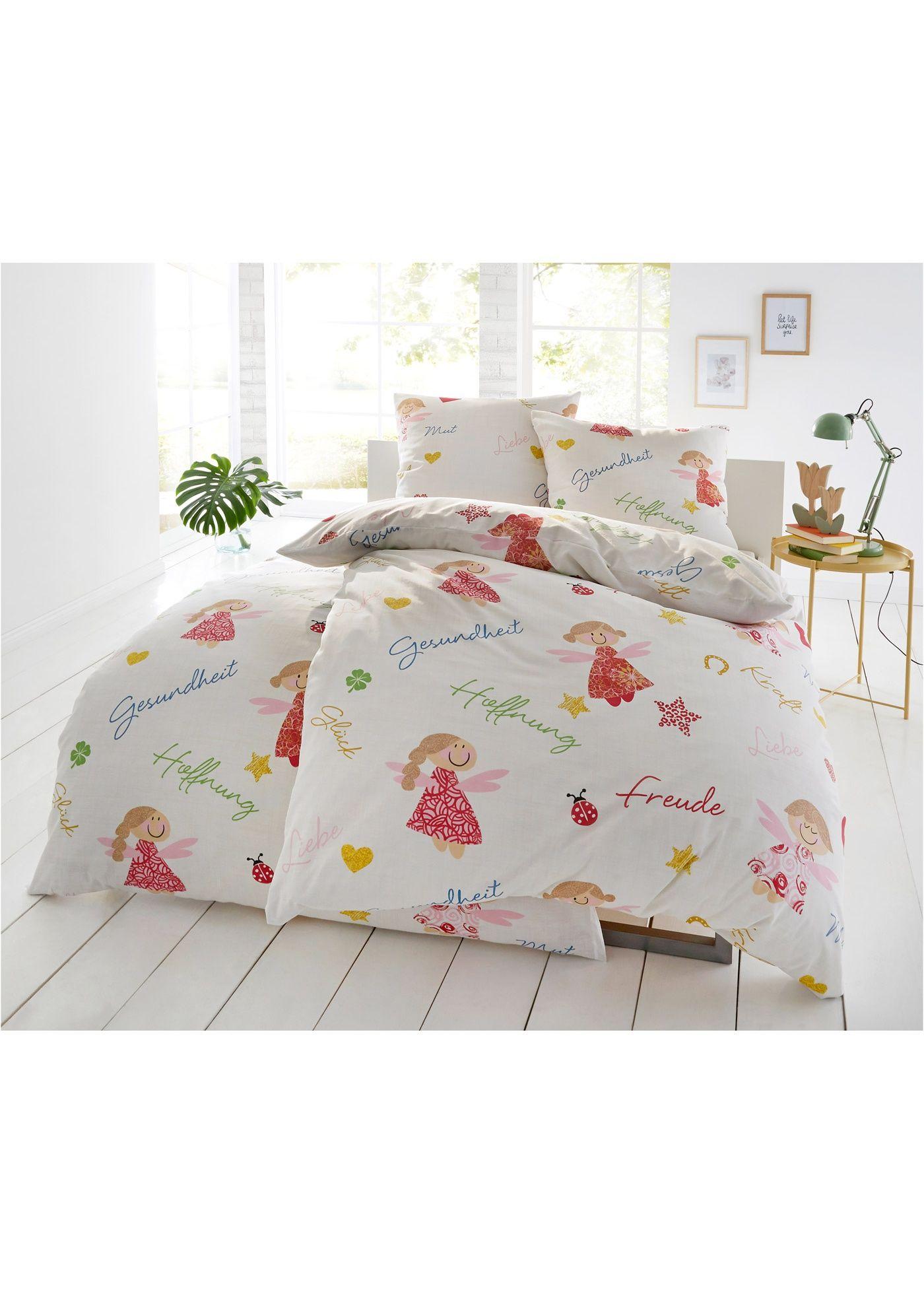 Bettwäsche Mit Motiv Schutzengel Red Living Bettwäsche Bett