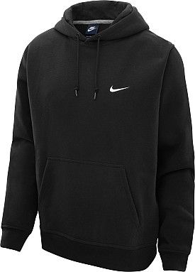 7531662d6e45 Nike Men s Club Swoosh Hoodie - Black Grey Navy Blue.  36.00 Size M