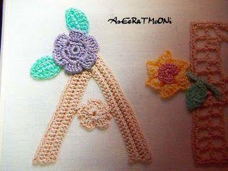 Crochet y Bebê: Lindo alfabeto em crochet!