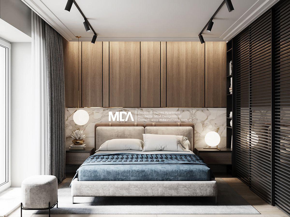 Vinhomes Apartment Interior On Behance Luxurious Bedrooms Apartment Interior Luxury Bedroom Furniture Bedroom design modern contemporary