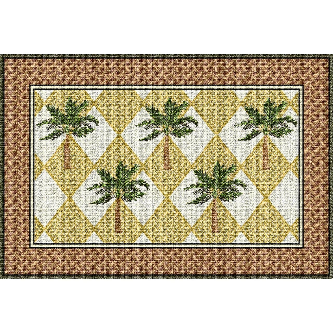 Add tropical flair to your dining table. Colonial Palms Placemat Set ...