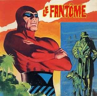 Le Fantome Celebre Personnage De La Bande Dessinee Bande Dessinee Bande Dessinee Vintage Fantome