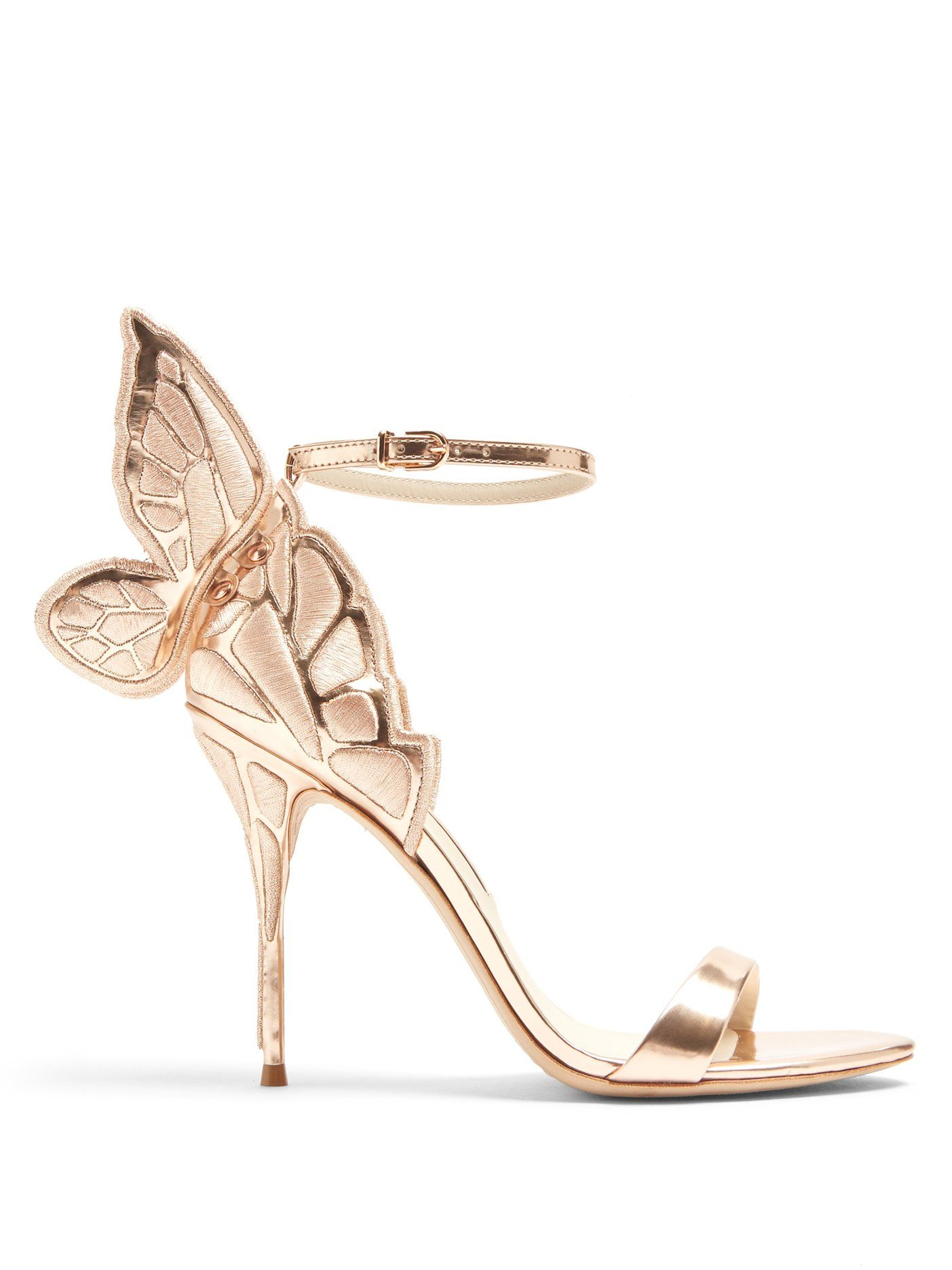 225d6d9eb46b Click here to buy Sophia Webster Chiara butterfly-wing leather sandals at  MATCHESFASHION.COM