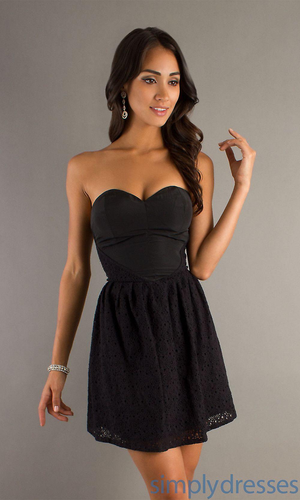 Simple Little Black Dress Sweetheart Neckline Black Short Dress Black Dress Evening Dresses Short [ 1663 x 1000 Pixel ]