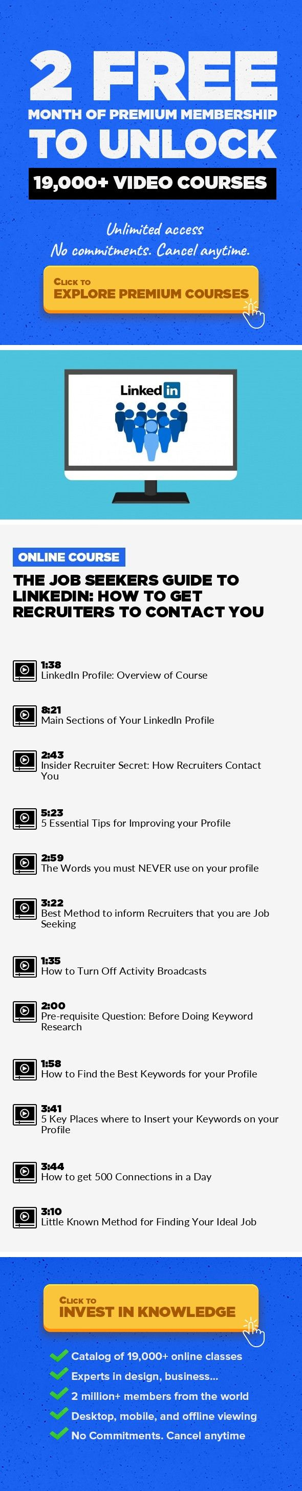 The Job Seekers Guide To LinkedIn: How To Get Recruiters To Contact You Business,  Human Resources, LinkedIn, Productivity, Resume, Career Developmeu2026