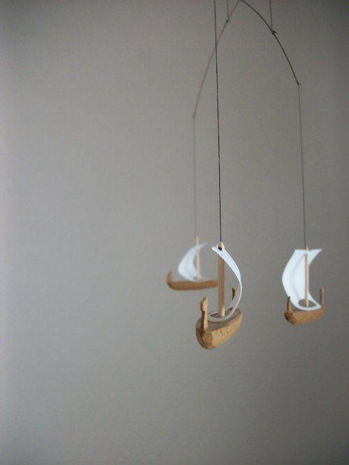 sailboat mobile (Eeva-Maijan löytö :)) | Kid\'s Room | Pinterest ...