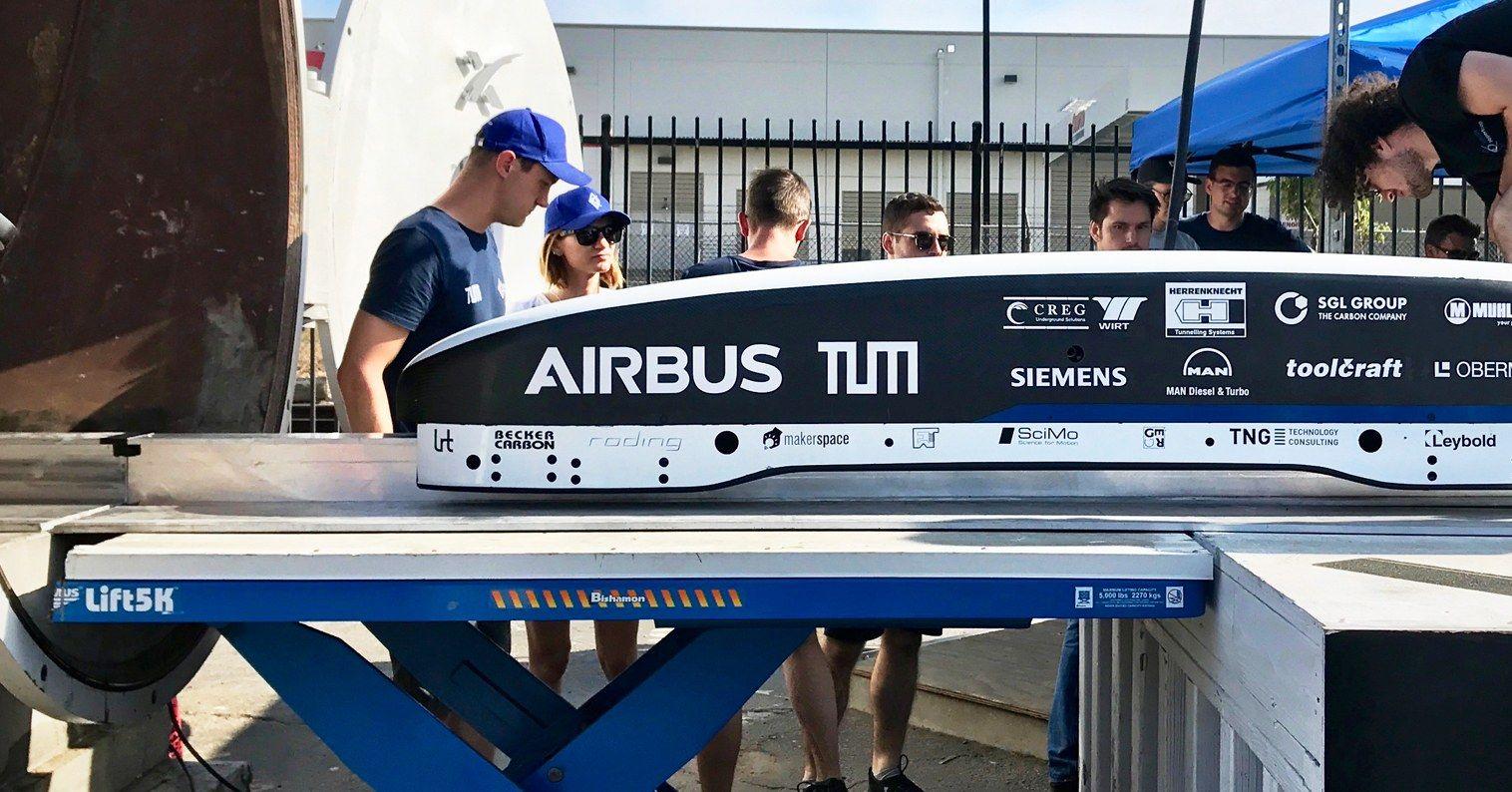 How Students Built the World's Fastest Hyperloop https