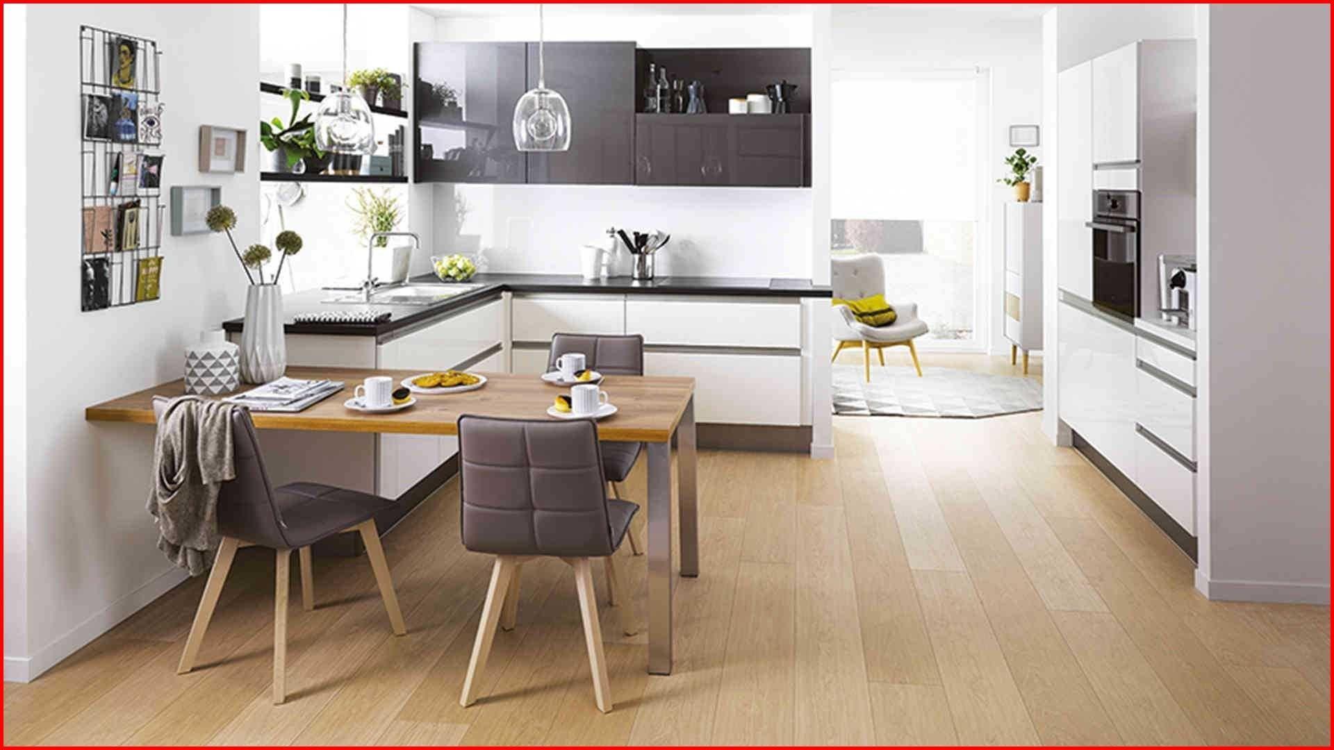 Cuisine am nag e avec table int gr e cuisine ouverte ilot galerie d co en 2019 meuble - Cuisine avec table ...