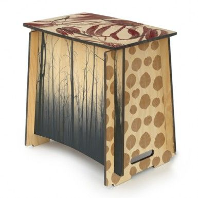 cool plywood flat-pack furniture: stool / chair