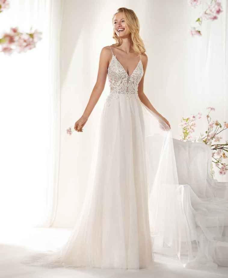 Vestiti Da Sposa Merletto.Nicole Spose 2020 Intera Collezione Abiti E Prezzi Abiti Da