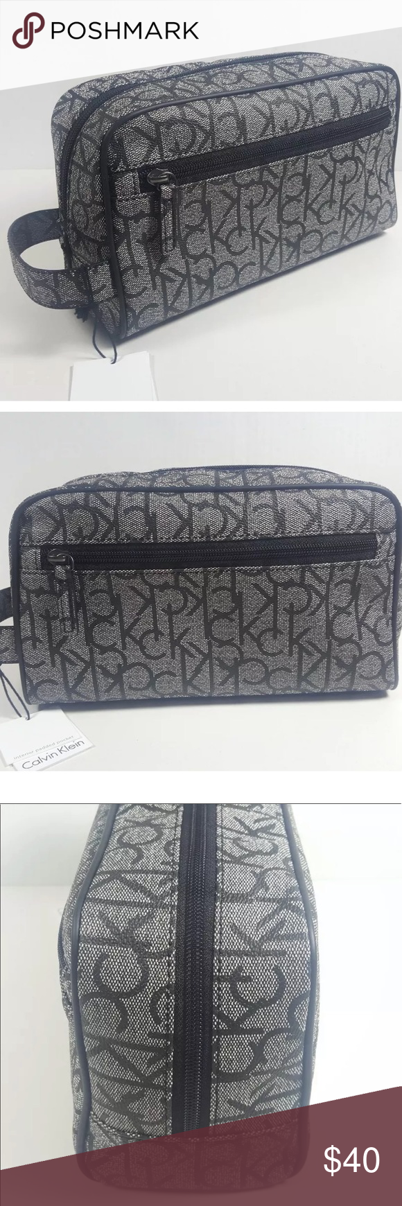 a71921d0fe Calvin Klein Toiletry kit bag CALVIN KLEIN Men s Toiletry Case Shaving Kit  New with Tags Calvin