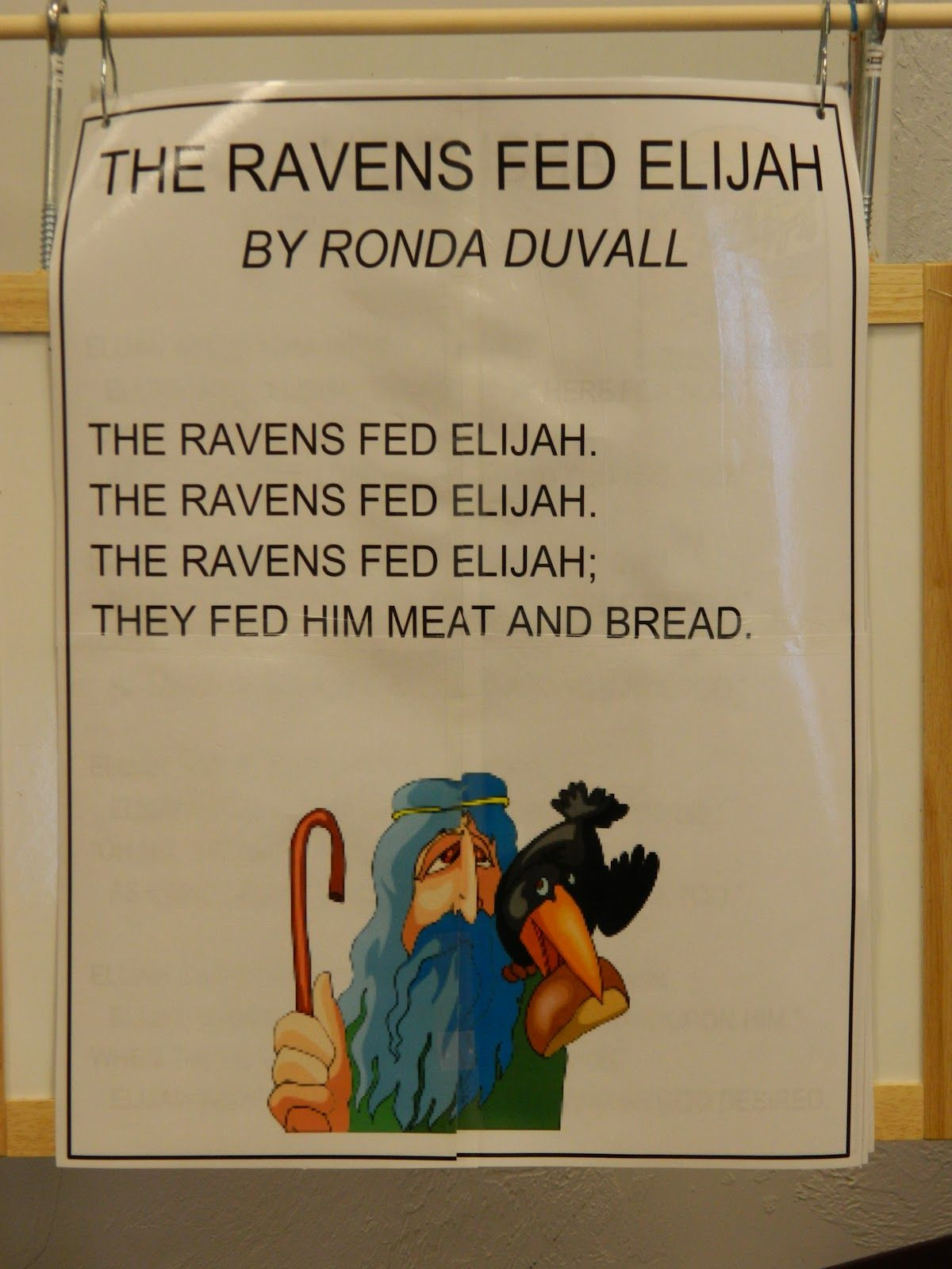 Hands On Bible Teacher The Ravens Fed Elijah (God Will