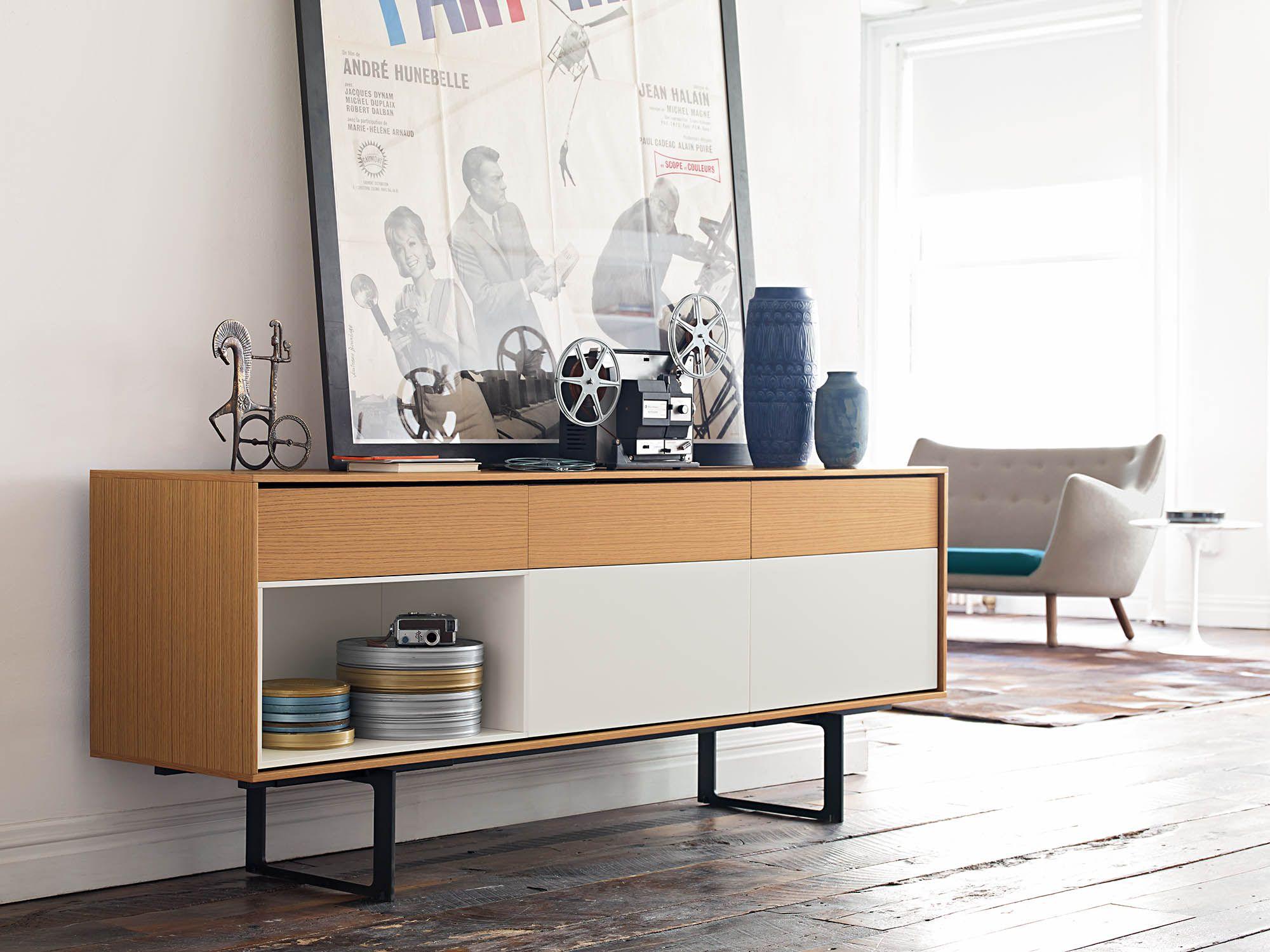 La Credenza Muebles : Aura credenza stay organized cabinet furniture modern storage